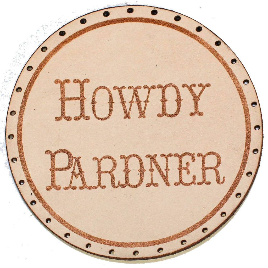 howdy pardner patch