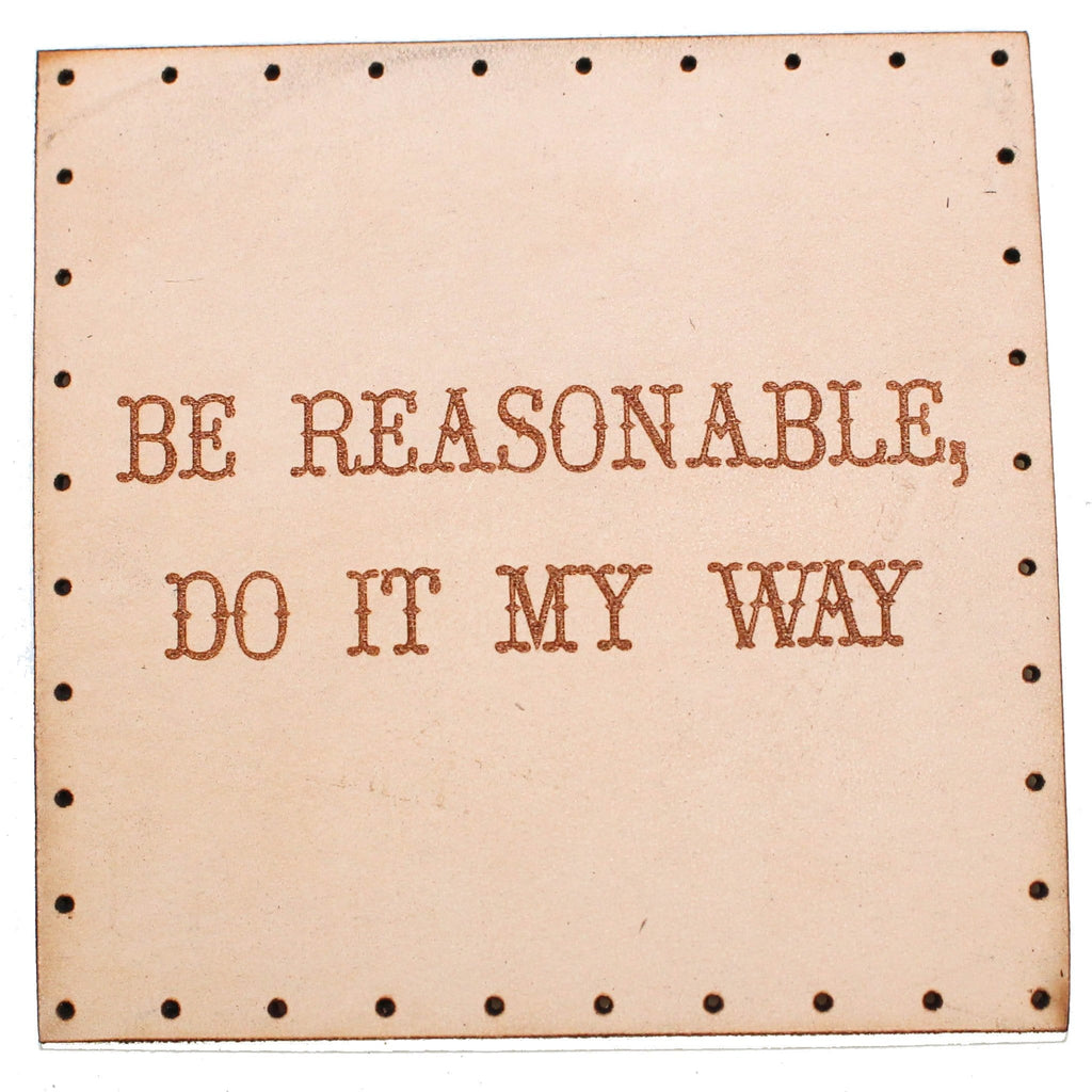 be reasonable patch