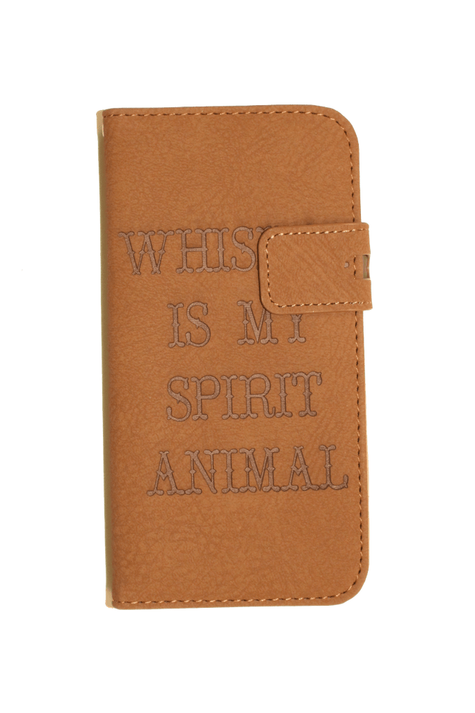SPIRIT ANIMAL iPHONE WALLET CASE