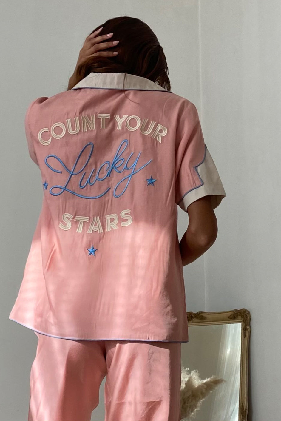 LUCKY STARS SLEEPWEAR SET