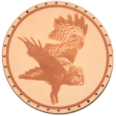 Owl Leather Patch