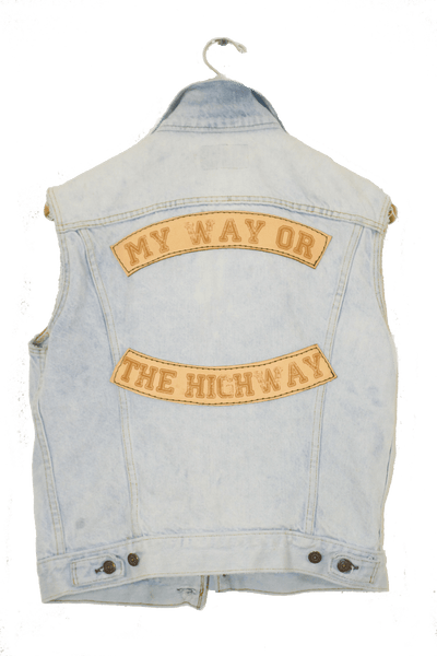 MY WAY OR THE HIGHWAY VEST