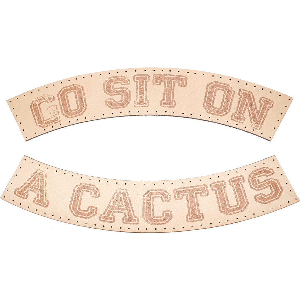 GO SIT ON A CACTUS PATCH SET