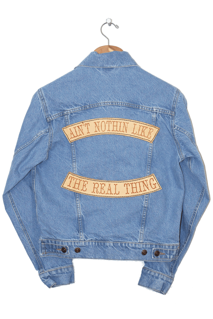 AINT NOTHIN LIKE THE REAL THING JACKET