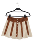 Jolene Two Tone Suede Skirt