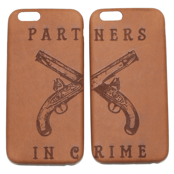 PARTNERS IN CRIME iPHONE 6 CASE (SET)
