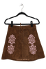 WILD WEST EMBROIDERED SKIRT