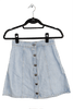LONESTAR DENIM PANELED SKIRT
