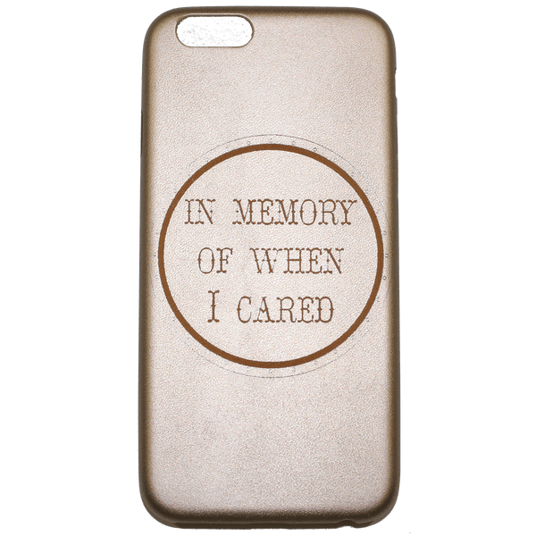 IN MEMORY OF iPHONE 6 CASE