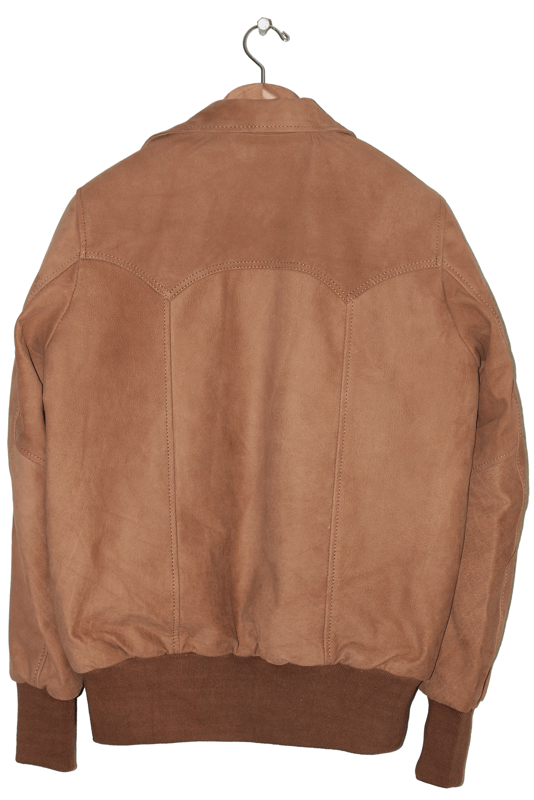 MENS NUBUCK FLIGHT BOMBER JACKET