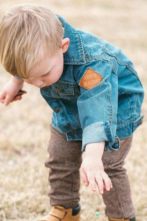 CHICK MAGNET DENIM BABY JACKET