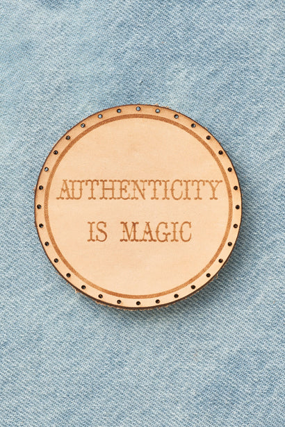 authenticity is magic patch