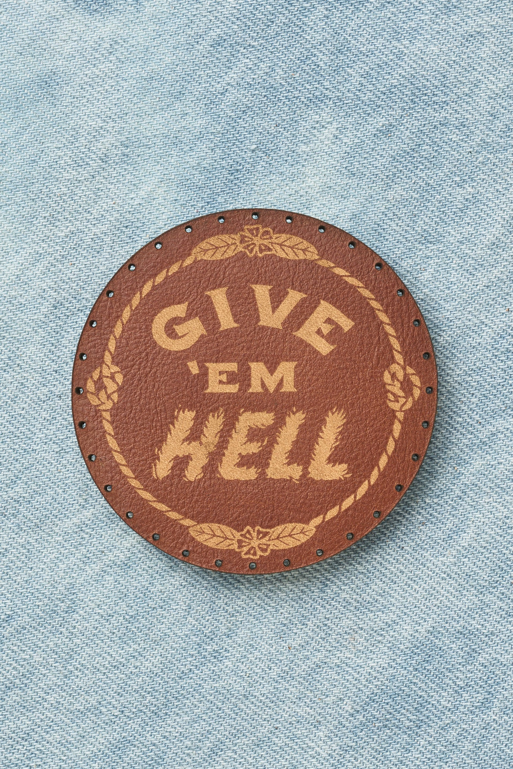 Give Em Hell Patch - Whiskey
