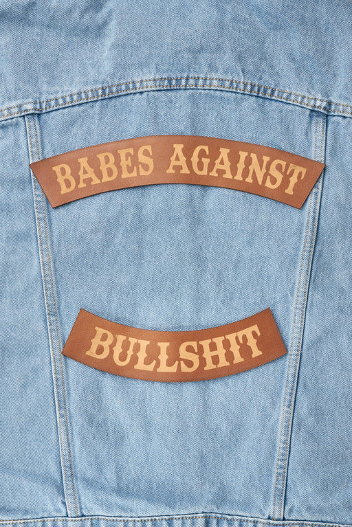 BABES AGAINST BULLSHIT PATCH SET - Whiskey