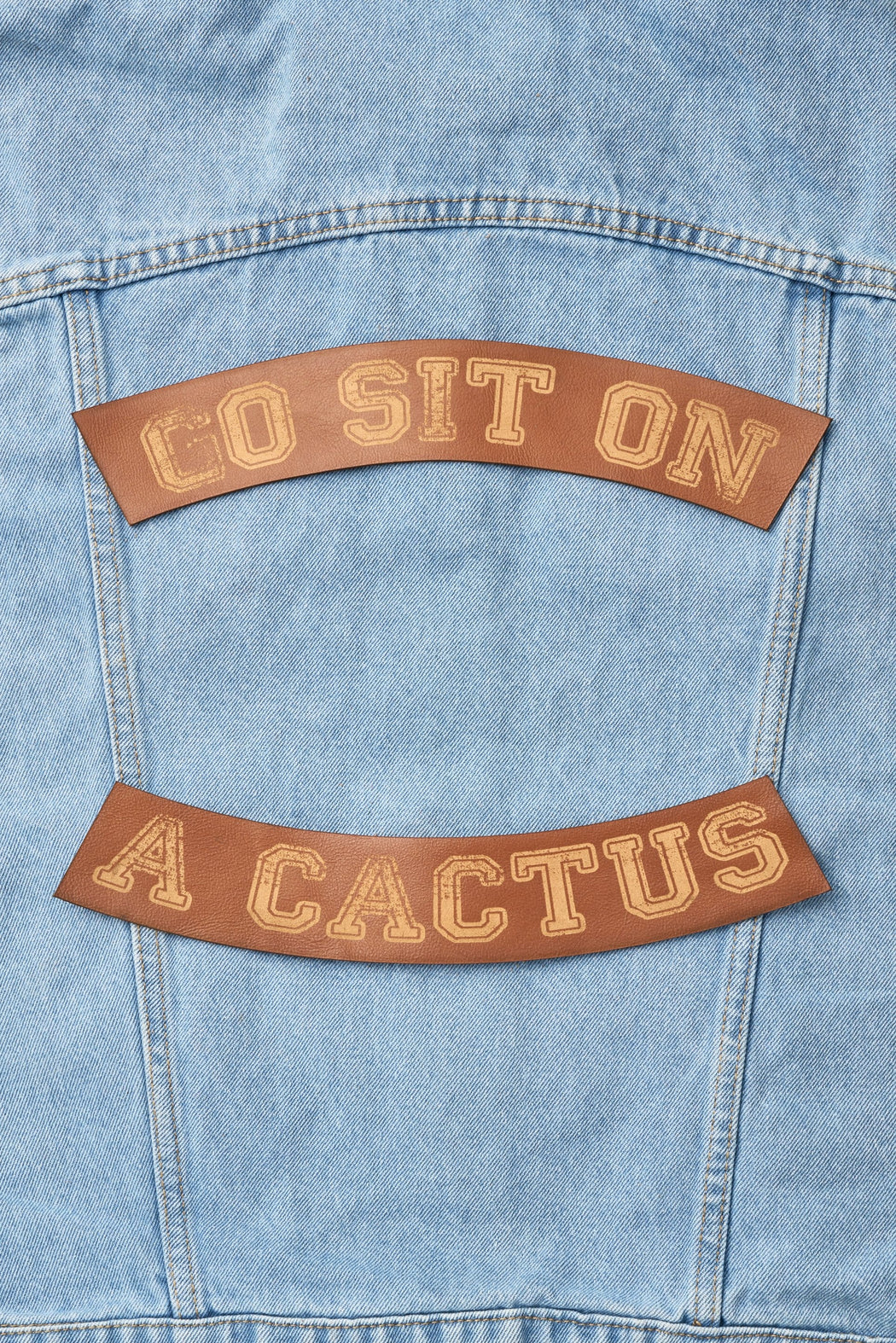 Go Sit On A Cactus Patch Set - Whiskey