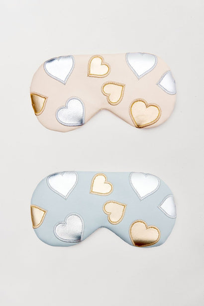 Love Heart Travel Eye Mask