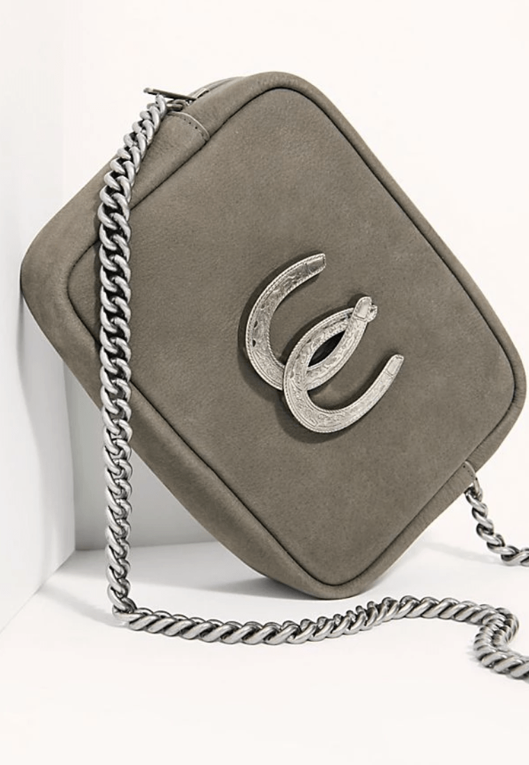 LADY LUCK CROSSBODY BAG - GREY