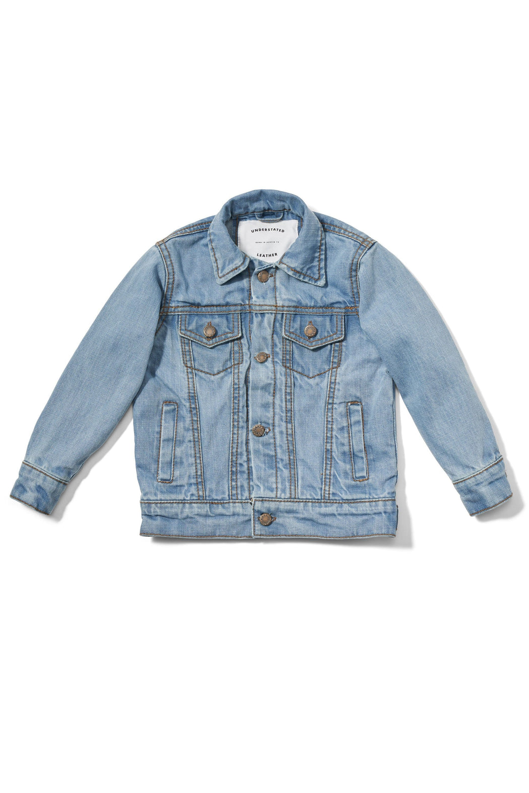 LIL DARLIN DENIM BABY JACKET