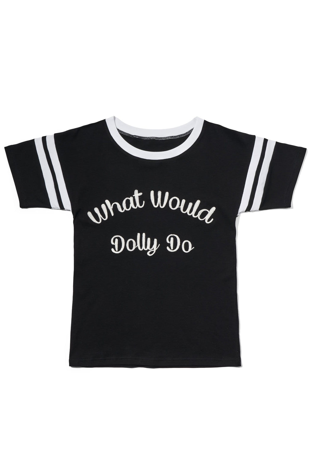 WHAT WOULD DOLLY DO TEE- NEW & IMPROVED!