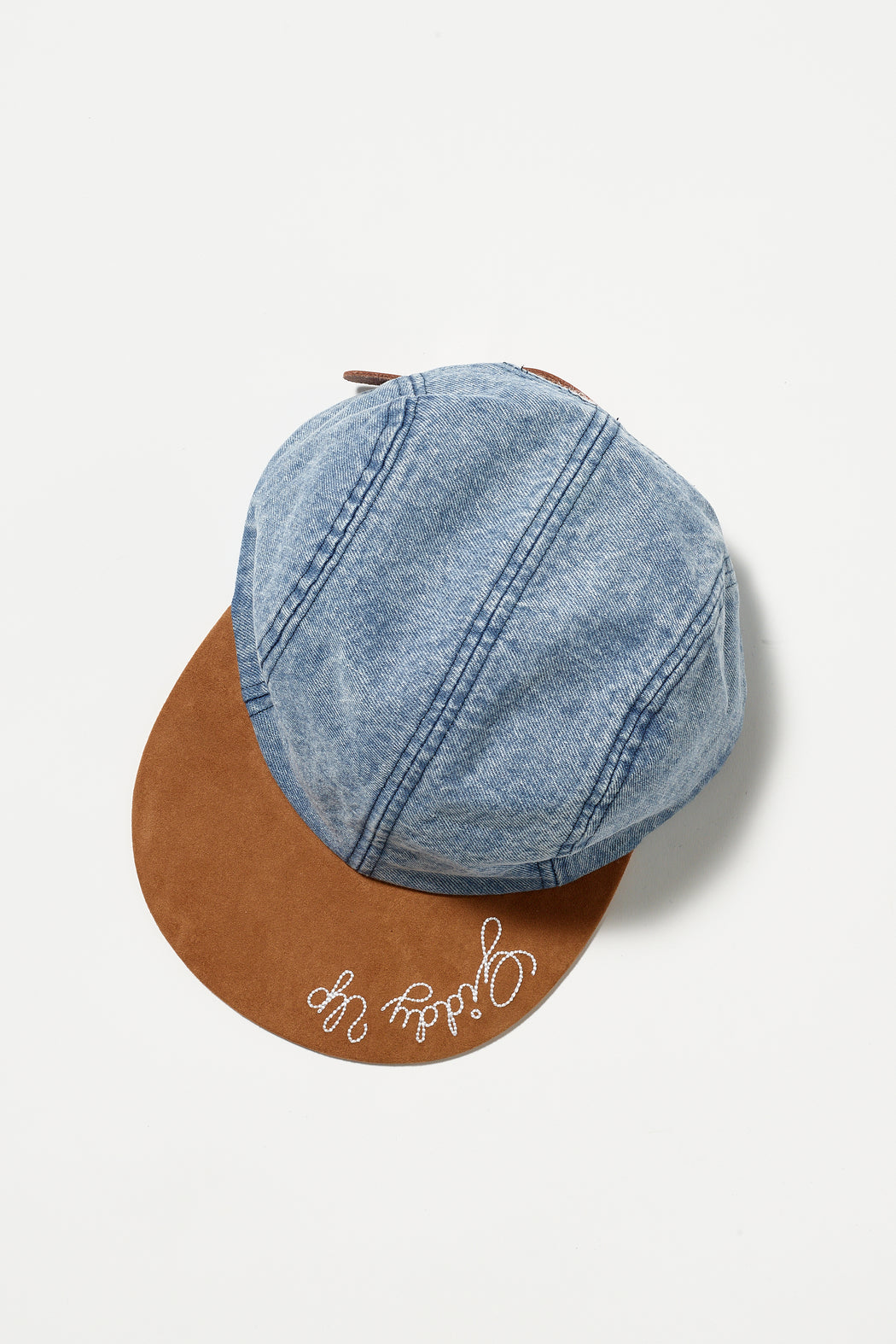 GIDDY UP DENIM HAT