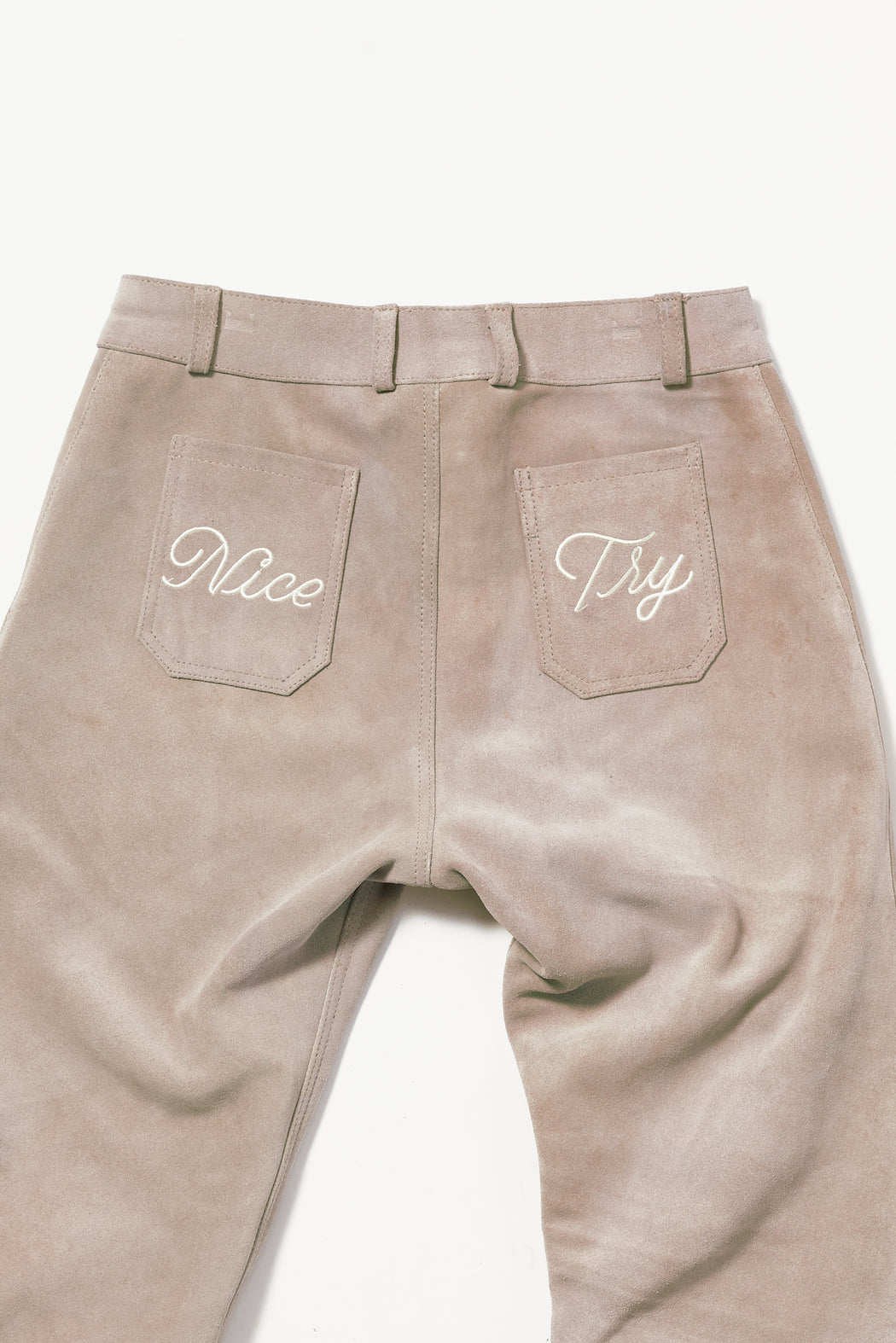 NICE TRY SUEDE PANT