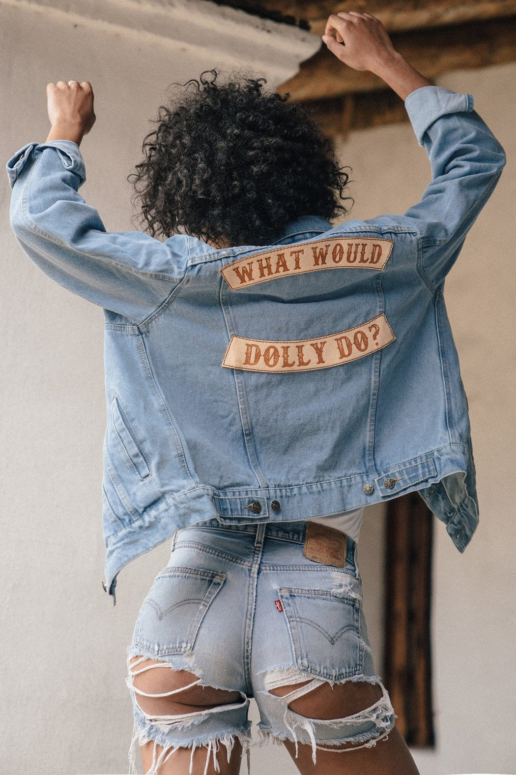 WHAT WOULD DOLLY DO JACKET