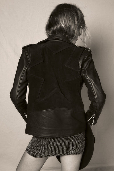 Northern Star Suede & Leather Jacket