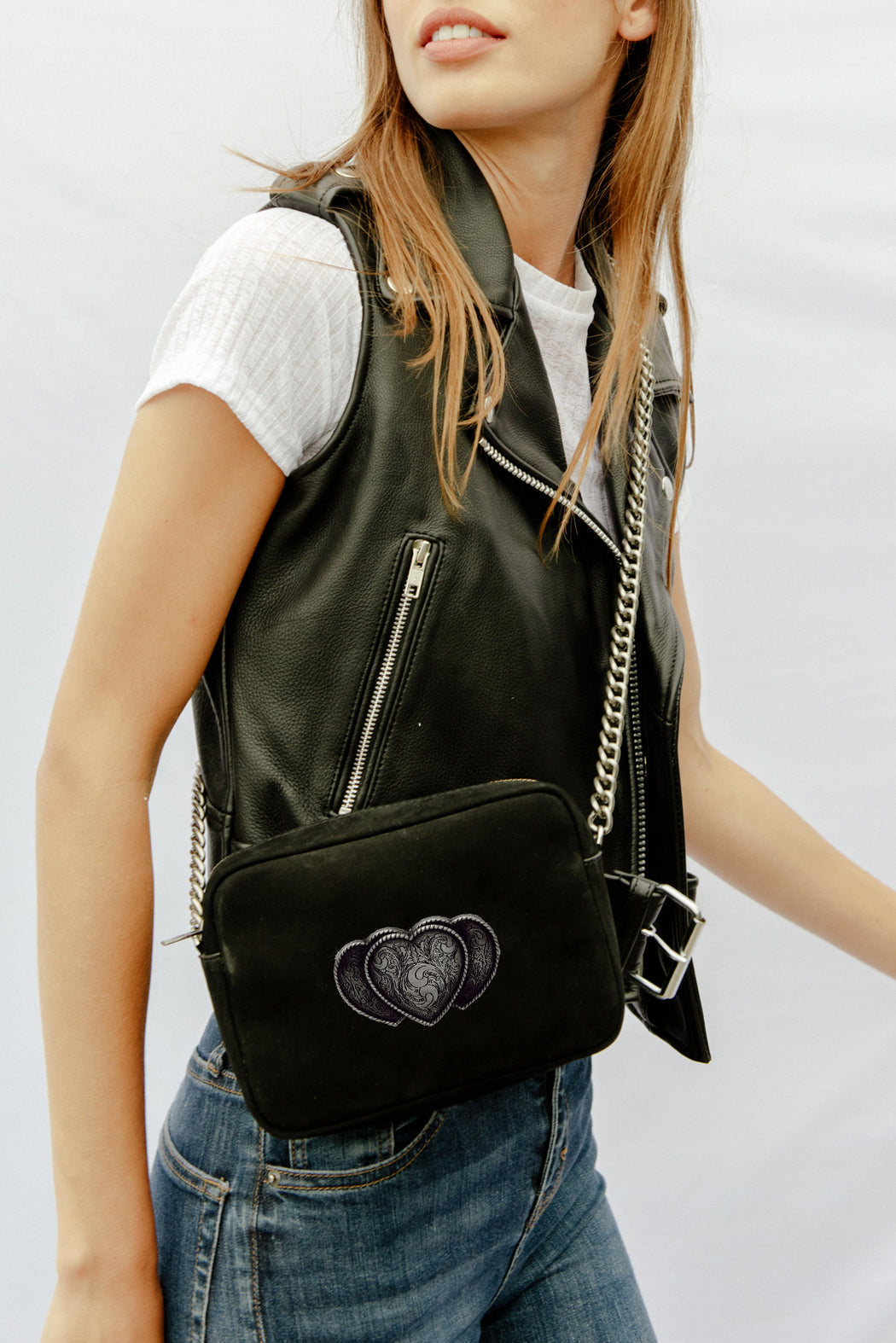 WILD AT HEART VEGAN LEATHER BAG