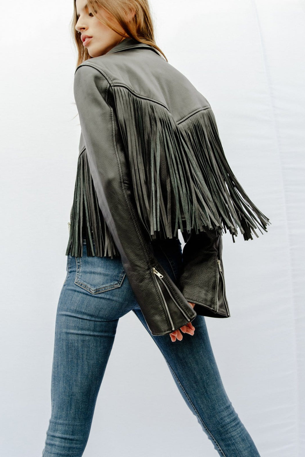 MERCY FRINGE JACKET