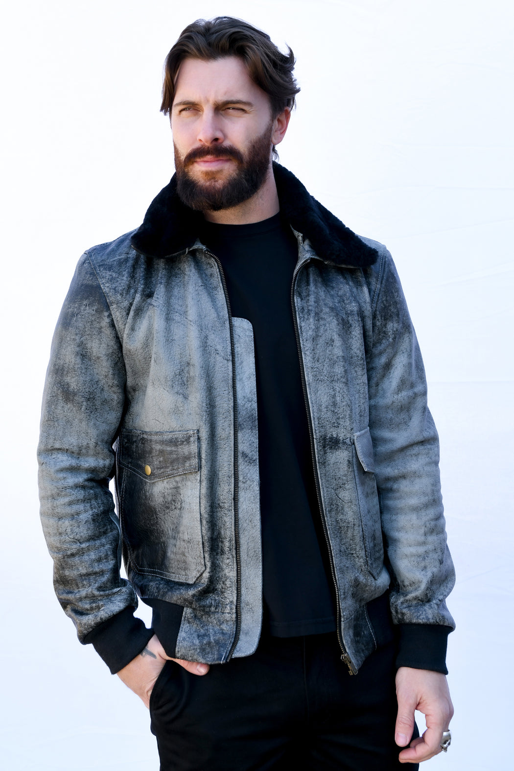 MENS SPIRIT BOMBER