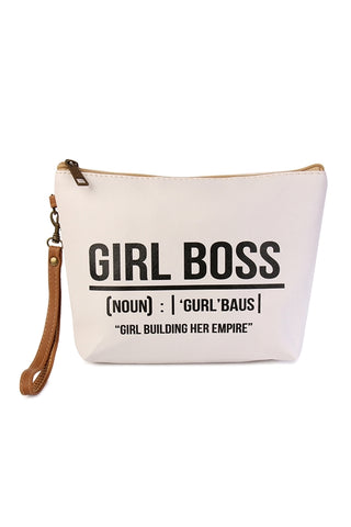 Girl Boss Statement Cosmetic Bag