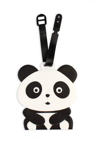 Panda Luggage Tag