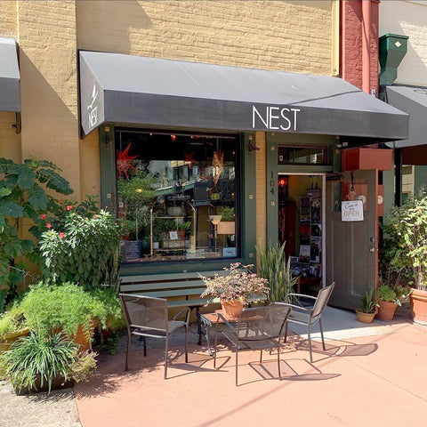 The Nest Entrance on Artisan Alley