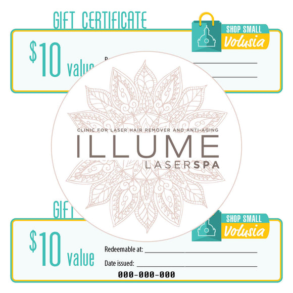 $10 Gift Certificate: Illume Laser Spa