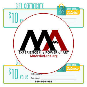 $10 Gift Certificate: Museum of Art - DeLand