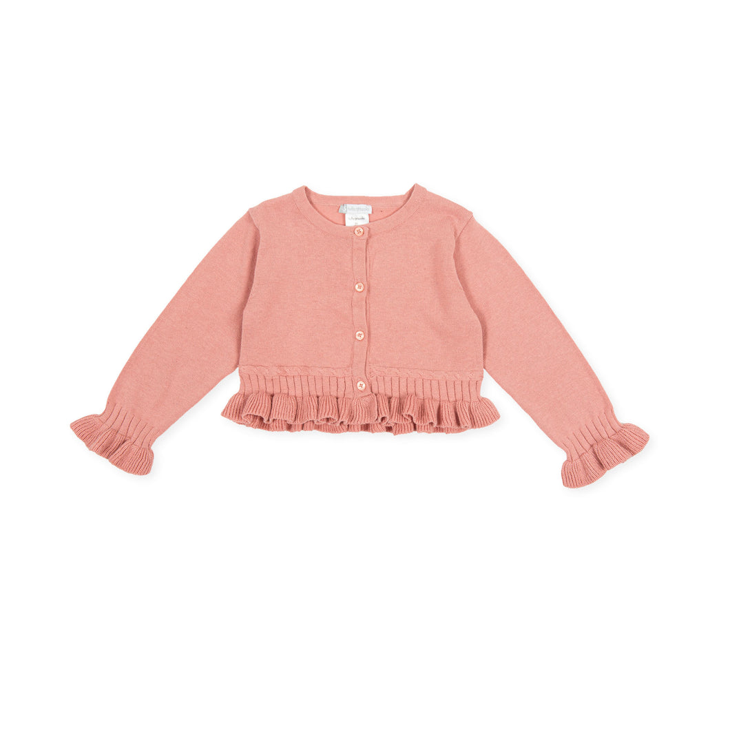 Cardigan rosa - HOPLA' PARMA Baby Collections