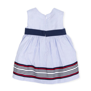 Vestina Costa Azul / Costa Azul Girl Dress - HOPLA' PARMA Baby Collections