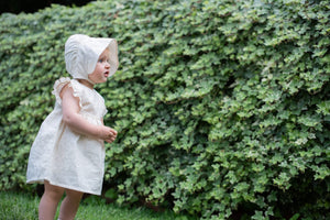 Vestina NaturaPura/Plumetis voile dress - HOPLA' PARMA Baby Collections