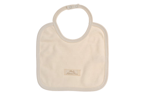 Bavetta  NaturaPura/ Square bib - HOPLA' PARMA Baby Collections
