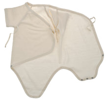 Carica l'immagine nel visualizzatore di Gallery, Body nascita incrociato NaturaPura/Basic wraparound bodysuit - HOPLA' PARMA Baby Collections