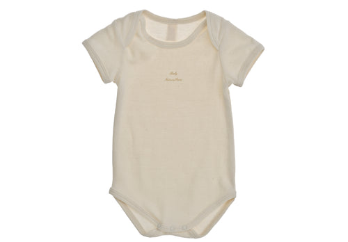 Body intimo NaturaPura/  Basic envelope neck bodysuit - HOPLA' PARMA Baby Collections