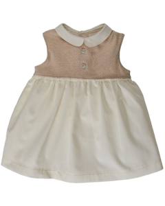 Vestina e coulotte NaturaPura/Voille and diamond jersey dress and pantsy - HOPLA' PARMA Baby Collections