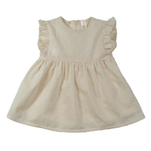 Load image into Gallery viewer, Vestina NaturaPura/Plumetis voile dress - HOPLA' PARMA Baby Collections