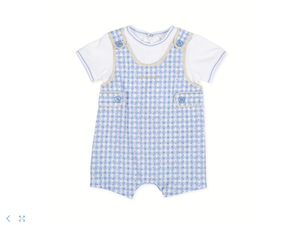 Pagliaccetto vichy bimbo / Boy vichy romper - HOPLA' PARMA Baby Collections