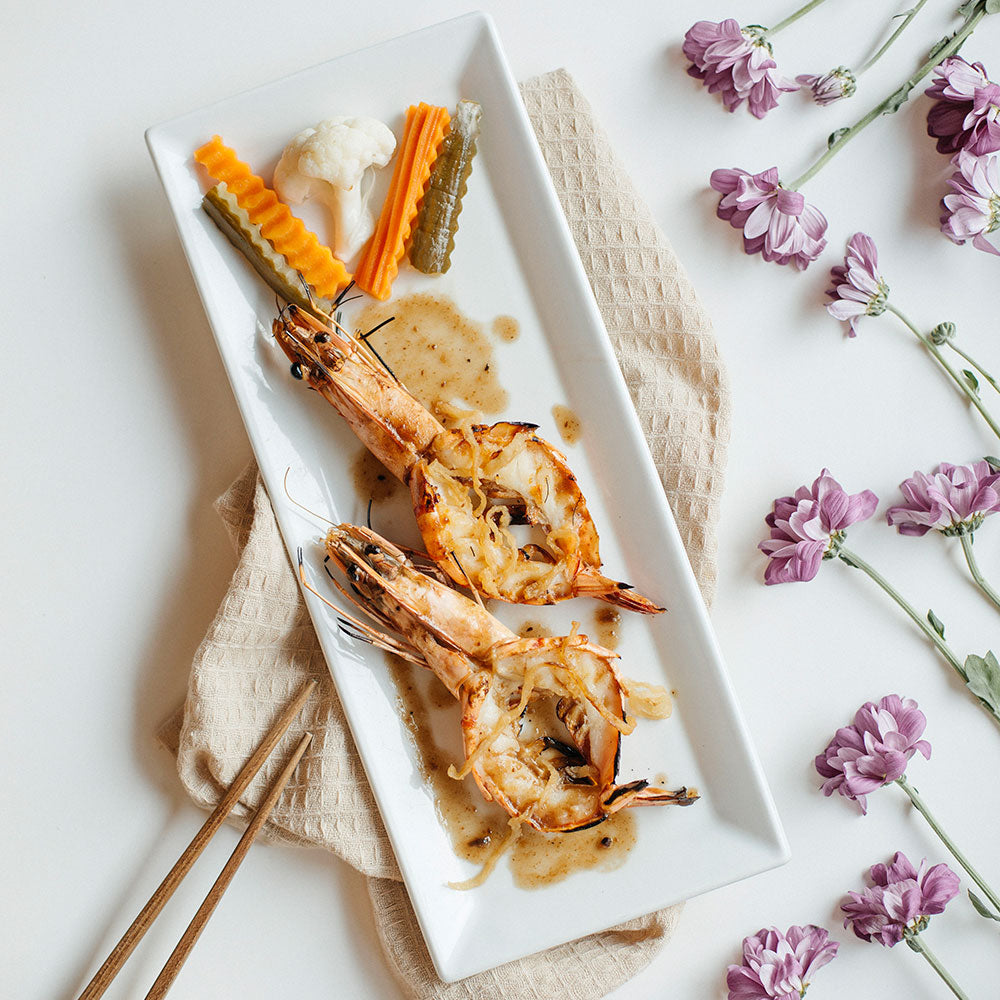 Grilled Tiger Prawns with Tamarind Sauce
