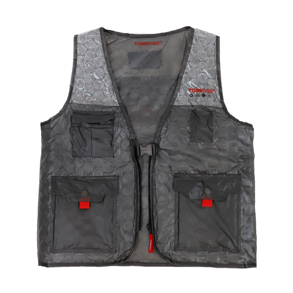 Bubble Wrap Utility Vest
