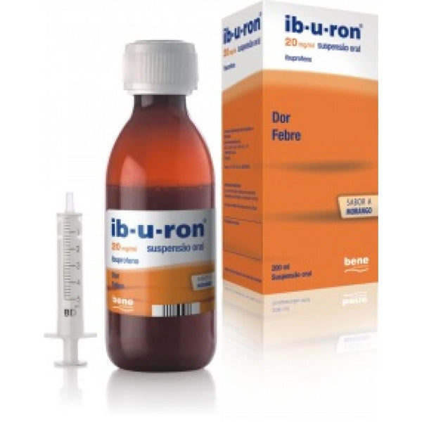 Ib-u-ron  20 mg/ mL x 200ml suspensão oral