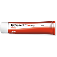 Thrombocid  15 mg/g x 100 gel bisnaga
