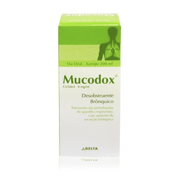 Mucodox 8 mg/mL Xaropes x 200mL