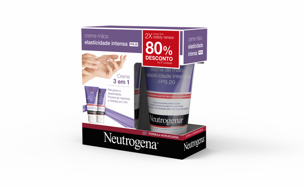 Neutrogena Visible Renew Creme 75 mL Duo + Desconto 80%